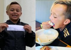 Este niño de 9 años compra con su mesada el regalo mas especial para todos sus compañeros de aula…